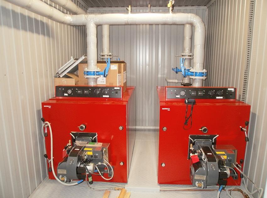 газовая котельная для мкд общей площадью 1360 кв.м.